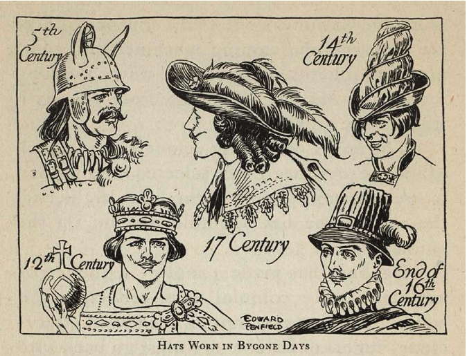 Bygone Hats (from page 42)